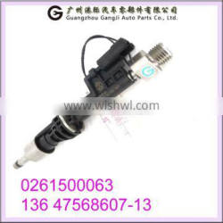 Wholesale Carparts 0261500063 13647568607-13 Fuel Injector For BMW