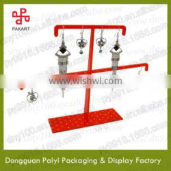 Wholesale high end earrings acrylic jewelry display stand