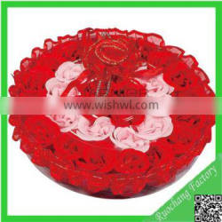 Artificial soap flower for gifts for newly married couple