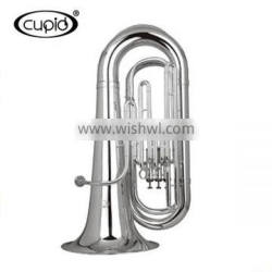 Cupid China cheap professional Silver Marching bb Tuba for sale