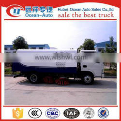 New 2 axle 4x2 dfac small street sweeping truck for sale