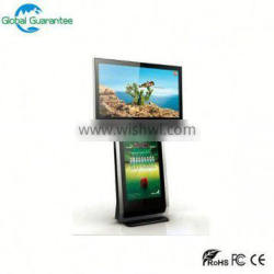 Stand alone CE ROSH IP65 high brightness 55 inch outdoor lcd advertising display/digital signage kiosk