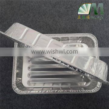 A05 alloy 8011 3003 aluminium foil eco-friendly heat resistant takeaway food container