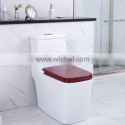 Chinese sanitary ware one piece siphonic toilet