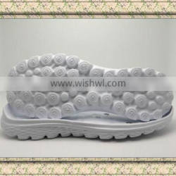 2016 hot design cheap light weight eva outsole for shoes making