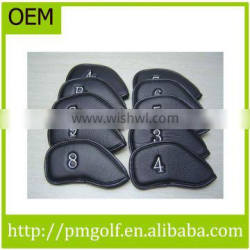 PU Leather Iron Golf Covers