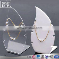 Custom size necklace display holder for bracelet jewelry display stand /rack