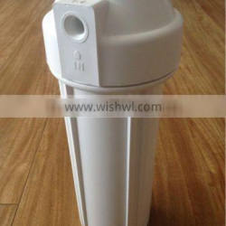 10 inch PP water filter housing double O ring