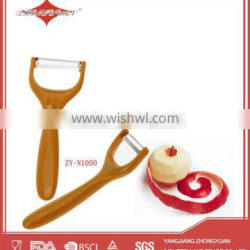 stainless steel manual potato peeler with pp handle