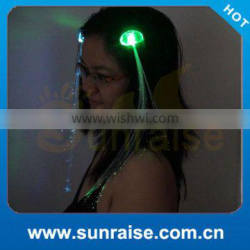 Light Up Led Flashing Hair Braid for Party Supply