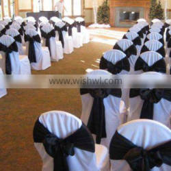 wedding chair cover polyester chair cover for wedding event decor