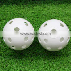 Hotsale cheap price Golf plastic balls with hole