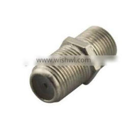High quality F female RF Adapter F -Pin coaxial coupler