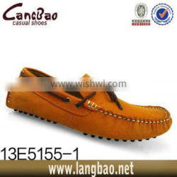 2016 real leather loafer shoes