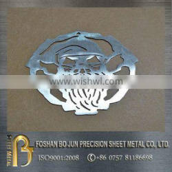 High precison custom 4000w laser cut products / stainless steel laser cutting