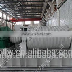 new design 225KN double-drum low speed electric winch for sale
