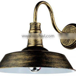 vintage and retro lighting & multi-colors wall mounted lamp made by iron W4031 (Gold)