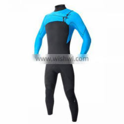 High stretchable windsurfing wetsuit with long sleeves