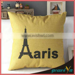 Fashion Printing Cotton Linen Adult Car Seat Booster Cushions