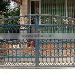 Villa Attractive and Durable Wrought Iron gate