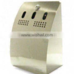 2014 hot selling stainless steel outdoor ashtray