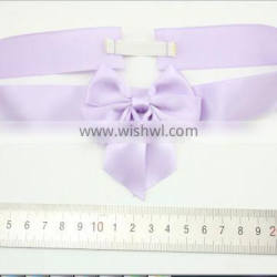 22mm colourful satin packing bows with adhesive at the end