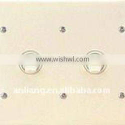 Flush Toggle Double wall Switch and socket