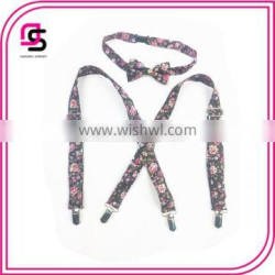 Baby Gril Suspender And Bowtie Set New Products 2015