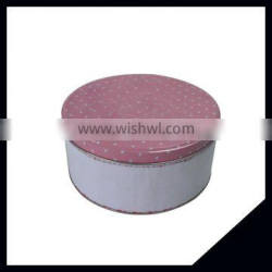 Wholesale Decorative Round Metal Candy Tin Box Coffee Tin Box For Food Packaging
