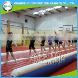 Indoor and outdoor Inflatable air mat, cheap inflatable gym air track for sale