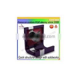 Customized Desktop Acrylic Watch Display Stand with High Quality
