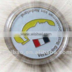 Cheapest round shape plastic box gift box for coins medals