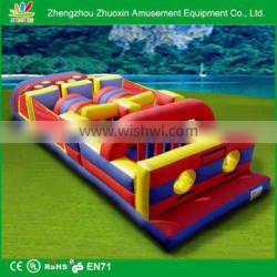 extreme challenge inflatable kids obstacle course games