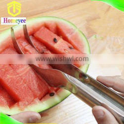 Stainless Steel Watermelon Slicer with The magic fruit slicer