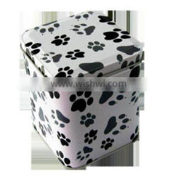 Hot Sale tobacco tin box for packaging,display