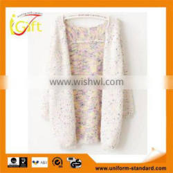 2014 hot sell wholesale high quality cotton long sleeve various color cardigan