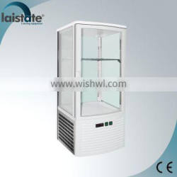 Four Side Glass Ventilated Horizontal Display case