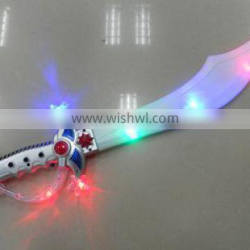 new and popular 3 flashing led light sword for kids playing