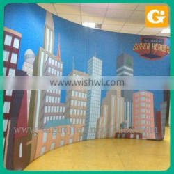 Fabric Polyester printing banner Large Format Advertisement banner