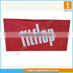 Printed outdoor advertising polyester banner ,fabric banner