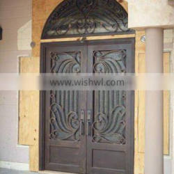 ornamental wrought iron door made in china