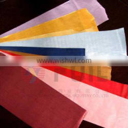 laminated foil with film PE and PET by gule