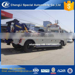 2017 hot selling diesel 180hp dongfeng wrecker with dual 8t winch