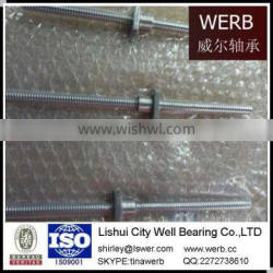 Diameter 8mm Ball Screw with or without Flange Nut