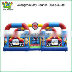 Most Funny obstacle game kids inflatable obstacle course for sale