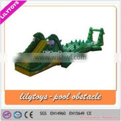 crazy inflatable water toys, cheap inflatable obstacle course, inflatable pool obstacle