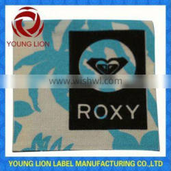 top quality adhesive woven clothing labels