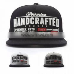 [P770-P772] H CRAFTED RUBBER cheap clearance stock snapback cap unique design hat