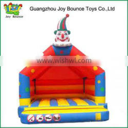 Colorful funny children house inflatable jumping bouncy castles PVC