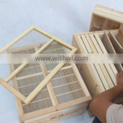 High quality factory directly supply Chinese fir wooden beehive bee hive box